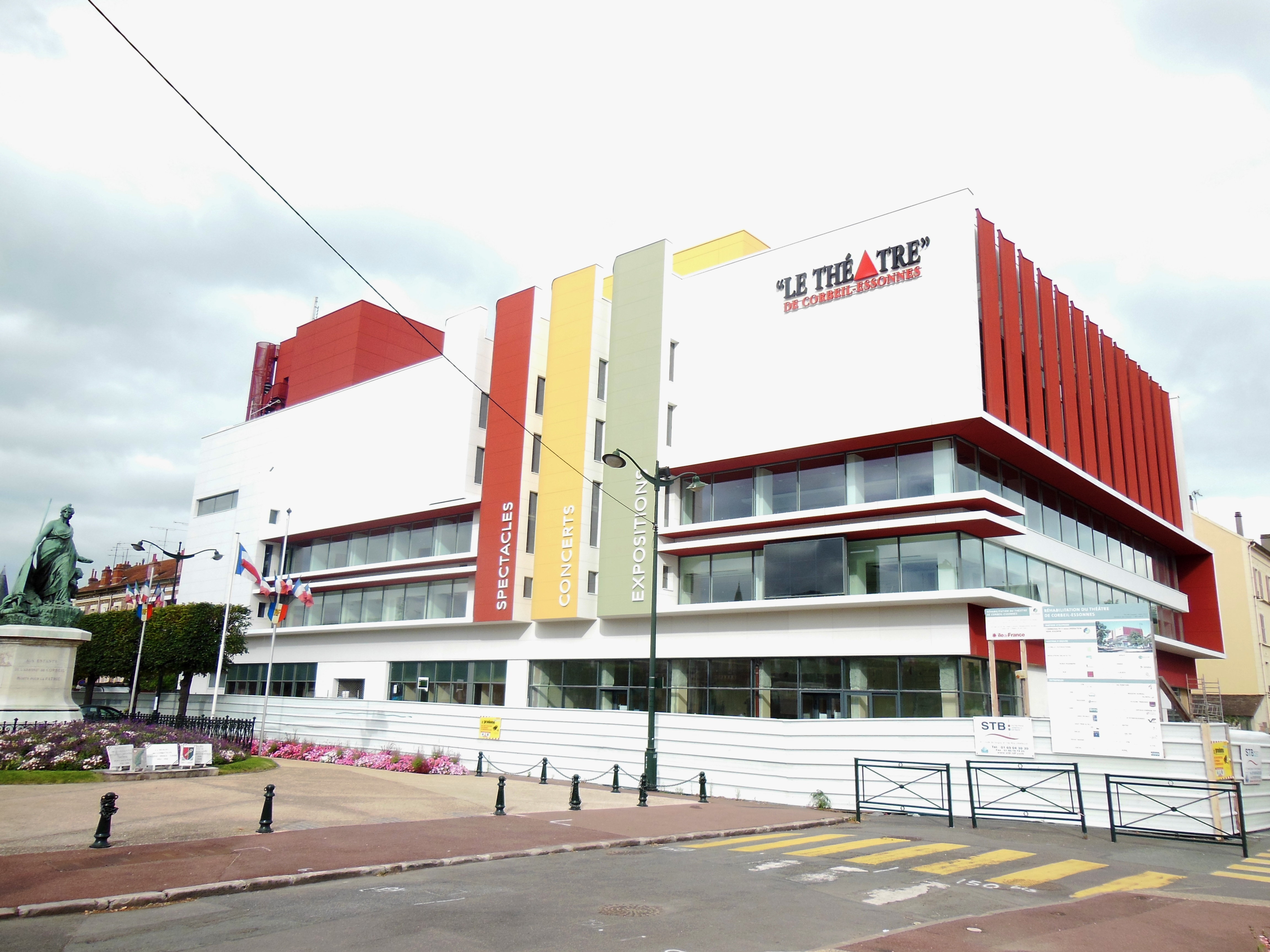 Réhabilitation théâtre STB