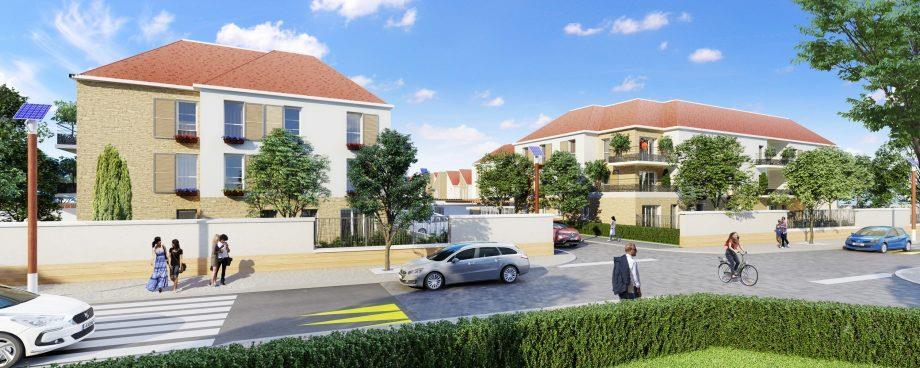 S-17301284 PGC Construction de 57 logements collectifs et 37 maisons groupées à Villeneuve-Saint-Denis (77)