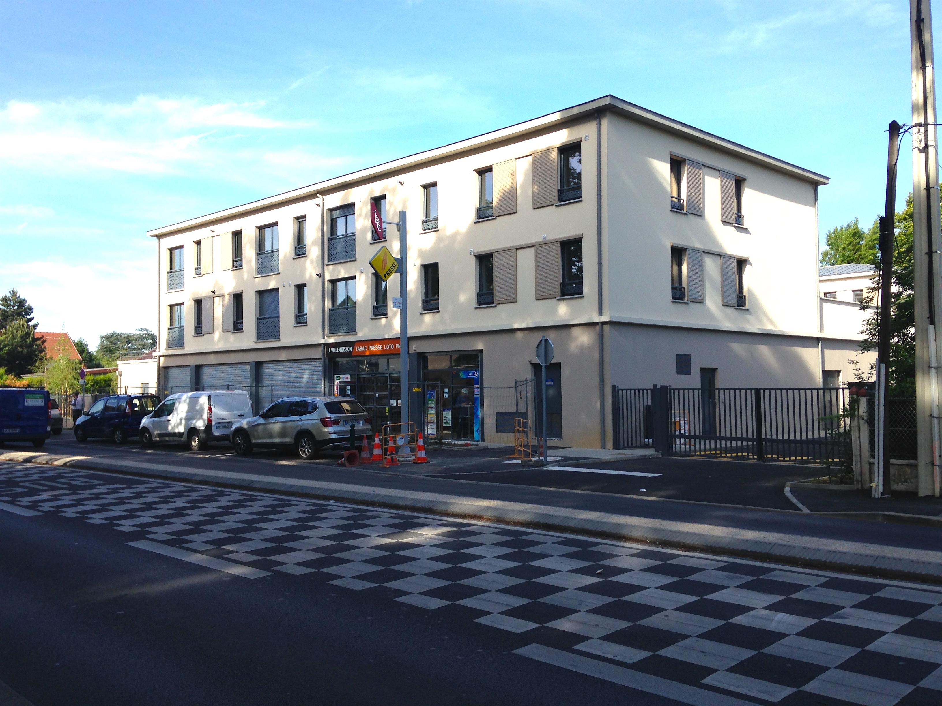 Villemoisson construction 28 logements STB 3